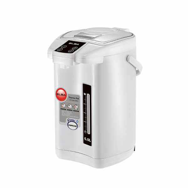 Elba 6.0L Thermo Pot ETPD6013WH
