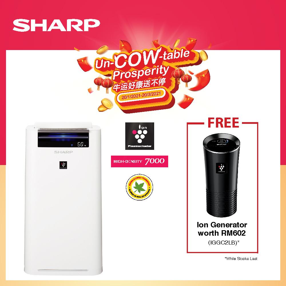 Sharp 28m2 Air Purifier KCG40LW