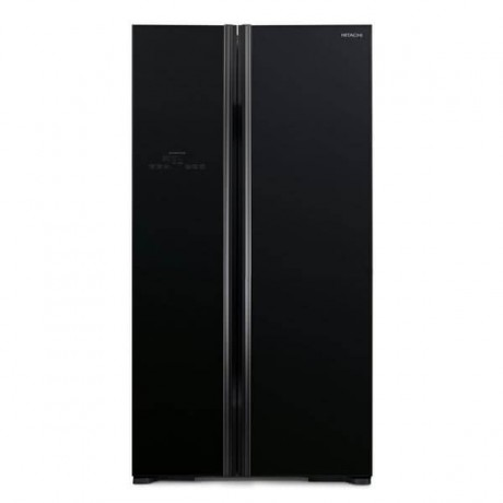 Hitachi 661L 2 Door SBS Fridge RS800P2MGBK