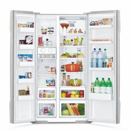 Hitachi 661L 2 Door SBS Fridge RS800P2MGS