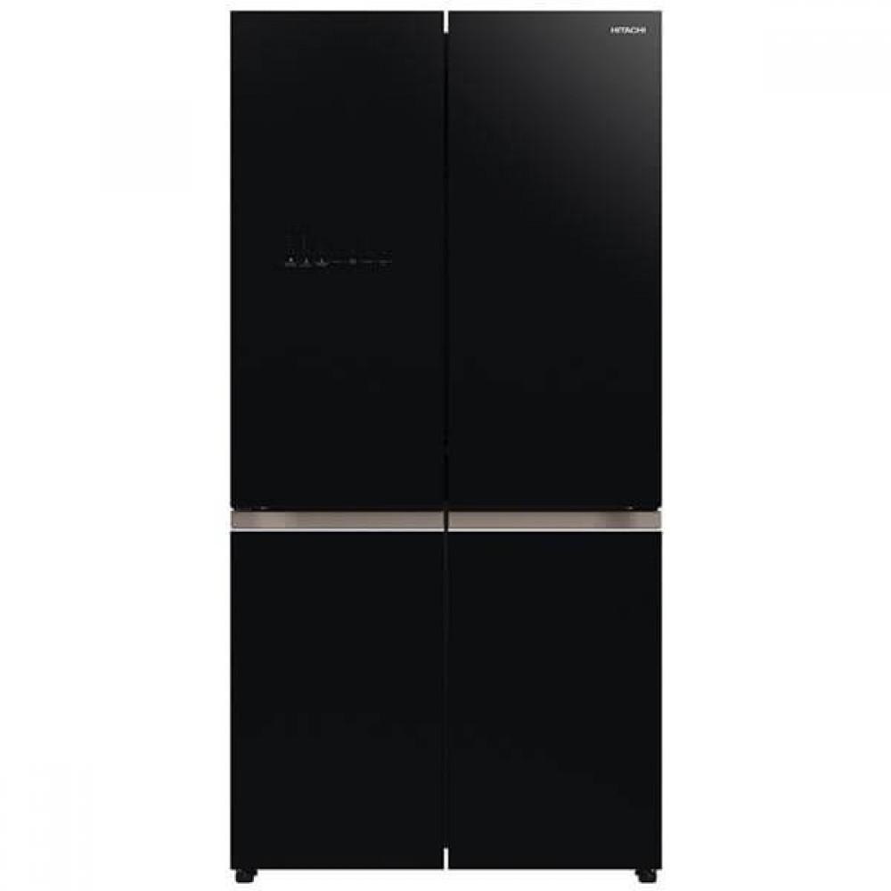 Hitachi 569L INV 4 Door Fridge RWB640VMOGBK