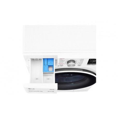 LG 8.5KG/5KG Washer Dryer Front Loading FV1285D4W