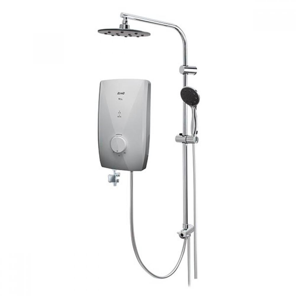 Alpha Water Heater With DC PUMP & Rain Shower V10IRS/BIANCO