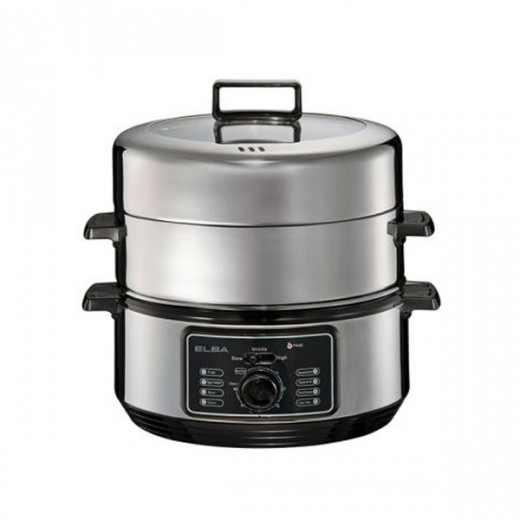 Elba Food Steamer 6.0L EFSF6023SS