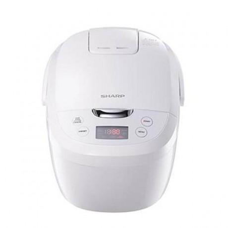 Sharp 1.8L Digital Rice Cooker KSE185WH