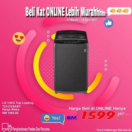 LG 13KG INV Top Loading T2313VSABY